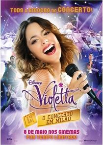 Violetta - O Show - Poster / Capa / Cartaz - Oficial 3