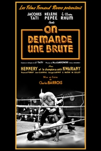 On Demande Une Brute - Poster / Capa / Cartaz - Oficial 1