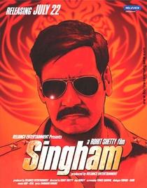 Singham - Poster / Capa / Cartaz - Oficial 7