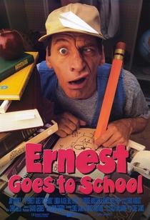 Ernest Vai Para a Escola - Poster / Capa / Cartaz - Oficial 1