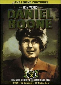 Daniel Boone (3ª Temporada) - Poster / Capa / Cartaz - Oficial 1