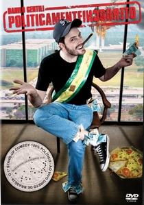 Danilo Gentili – Politicamente Incorreto - Poster / Capa / Cartaz - Oficial 1