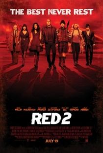 RED 2: Aposentados e Ainda Mais Perigosos  - Poster / Capa / Cartaz - Oficial 1