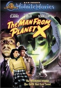 O Homem do Planeta X - Poster / Capa / Cartaz - Oficial 3