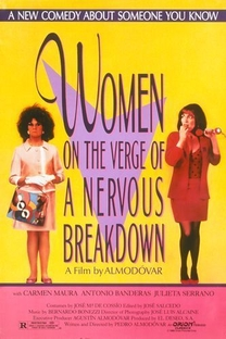 Mulheres à Beira de um Ataque de Nervos - Poster / Capa / Cartaz - Oficial 8