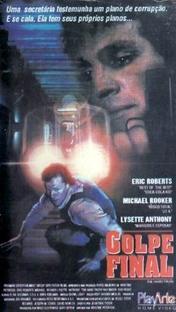 Golpe Final - Poster / Capa / Cartaz - Oficial 1