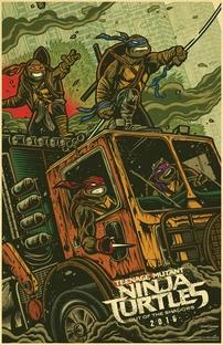 As Tartarugas Ninja: Fora das Sombras - Poster / Capa / Cartaz - Oficial 5
