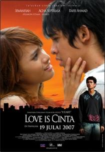 Love Is Cinta - Poster / Capa / Cartaz - Oficial 1