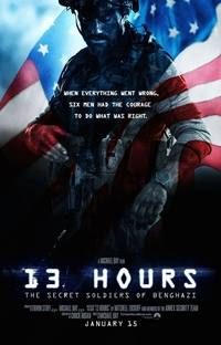 13 Horas - Os Soldados Secretos de Benghazi - Poster / Capa / Cartaz - Oficial 6