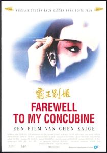 Adeus, Minha Concubina - Poster / Capa / Cartaz - Oficial 22