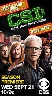 CSI: Investigação Criminal (12ª Temporada) - Poster / Capa / Cartaz - Oficial 2