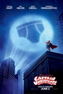 As Aventuras do Capitão Cueca: O Filme - Poster / Capa / Cartaz - Oficial 2