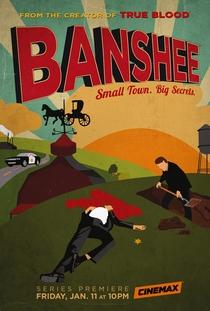 Banshee (1ª Temporada) - Poster / Capa / Cartaz - Oficial 1