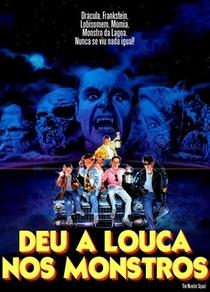 Deu a Louca nos Monstros - Poster / Capa / Cartaz - Oficial 2
