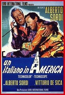 Um Italiano na América - Poster / Capa / Cartaz - Oficial 1