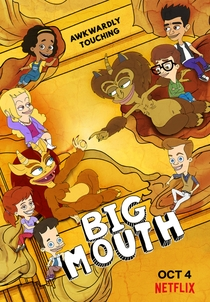 Big Mouth (3ª Temporada) - Poster / Capa / Cartaz - Oficial 1