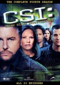 CSI: Investigação Criminal (4ª Temporada) - Poster / Capa / Cartaz - Oficial 2