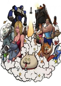 Space Neko Theater - Poster / Capa / Cartaz - Oficial 1