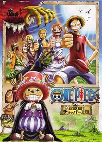 One Piece 3 - O Reino de Chopper na Ilha dos Estranhos Animais! - Poster / Capa / Cartaz - Oficial 1