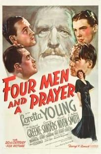 Quatro Homens e Uma Prece - Poster / Capa / Cartaz - Oficial 2
