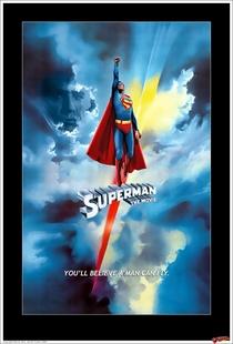 Superman - O Filme - Poster / Capa / Cartaz - Oficial 1
