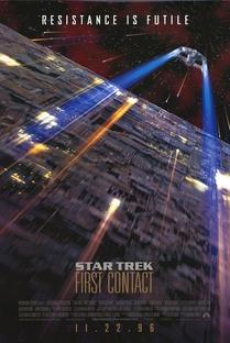 Jornada nas Estrelas: Primeiro Contato - Poster / Capa / Cartaz - Oficial 2