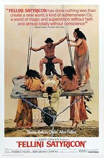 Satyricon de Fellini - Poster / Capa / Cartaz - Oficial 8