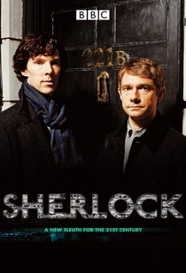 Sherlock (1ª Temporada) - Poster / Capa / Cartaz - Oficial 2