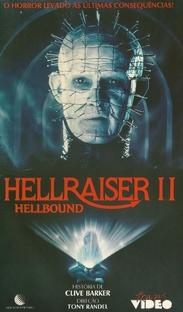 Hellraiser II - Renascido das Trevas - Poster / Capa / Cartaz - Oficial 3