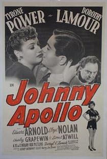 Johnny Apollo - Poster / Capa / Cartaz - Oficial 1