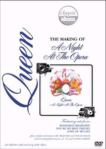 Queen The making of A Night At The Opera - Poster / Capa / Cartaz - Oficial 1