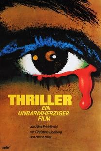 Thriller - Um Filme Cruel - Poster / Capa / Cartaz - Oficial 23