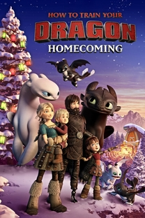 How to Train Your Dragon Homecoming - Poster / Capa / Cartaz - Oficial 1