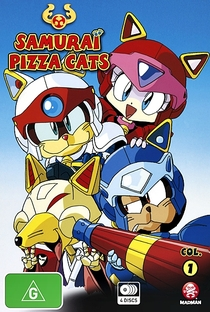 Samurai Pizza Cats - Poster / Capa / Cartaz - Oficial 1