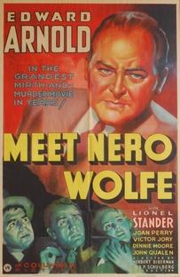 A Astúcia de Nero Wolfe - Poster / Capa / Cartaz - Oficial 1