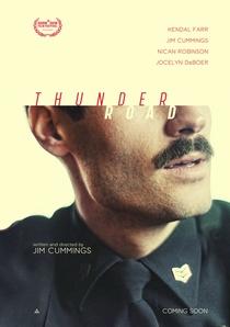 Thunder Road - Poster / Capa / Cartaz - Oficial 2