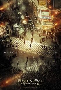 Resident Evil 5: Retribuição - Poster / Capa / Cartaz - Oficial 6