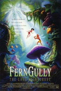 Ferngully - As Aventuras de Zack e Crysta na Floresta Tropical - Poster / Capa / Cartaz - Oficial 1