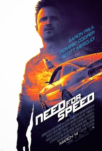 Need for Speed - O Filme - Poster / Capa / Cartaz - Oficial 2