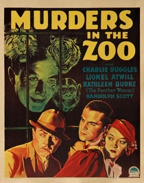 Murders in the Zoo - Poster / Capa / Cartaz - Oficial 2