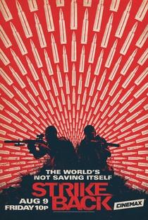 Strike Back (4ª Temporada) - Poster / Capa / Cartaz - Oficial 1