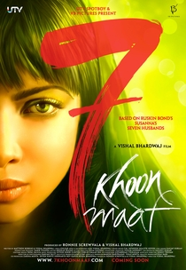 7 Khoon Maaf - Poster / Capa / Cartaz - Oficial 2
