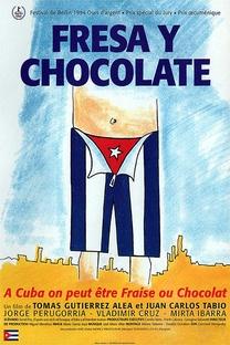 Morango e Chocolate - Poster / Capa / Cartaz - Oficial 3