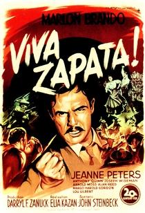 Viva Zapata! - Poster / Capa / Cartaz - Oficial 1