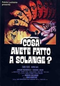 O Quê Vocês Fizeram com Solange? - Poster / Capa / Cartaz - Oficial 1
