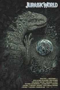 Jurassic World - O Mundo dos Dinossauros - Poster / Capa / Cartaz - Oficial 10