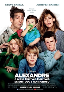 Alexandre e o Dia Terrível, Horrível, Espantoso e Horroroso - Poster / Capa / Cartaz - Oficial 2