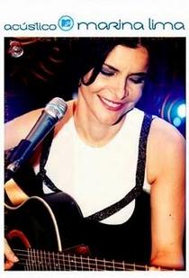 Acústico MTV - Marina Lima - Poster / Capa / Cartaz - Oficial 1