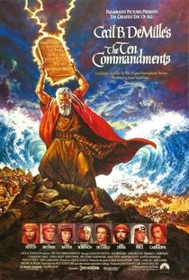Os Dez Mandamentos - Poster / Capa / Cartaz - Oficial 3