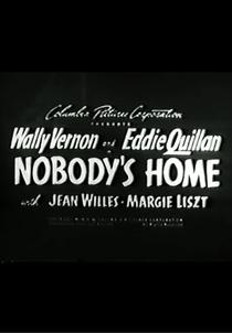 Nobody's Home - Poster / Capa / Cartaz - Oficial 1